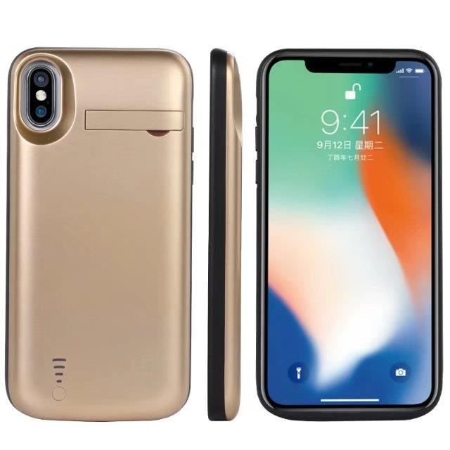 chargeur iphone x coque