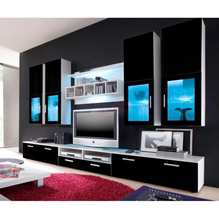 Mur tv ref max black Achat Vente meuble tv Mur tv ref max black