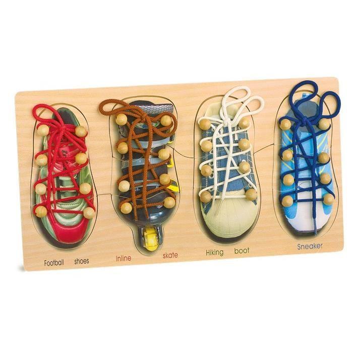 D'apprentissage Ses Jeu Chaussures Vente Lacer Cdiscount Achat wU0qCCX