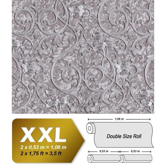 Papier Peint Baroque Edem 9016 35 Papier Peint Intisse Gaufre Avec