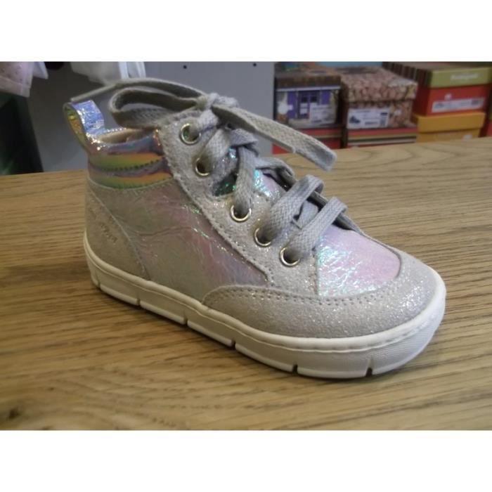 Chaussures enfants. Bottillons bébés filles POM D'API P22