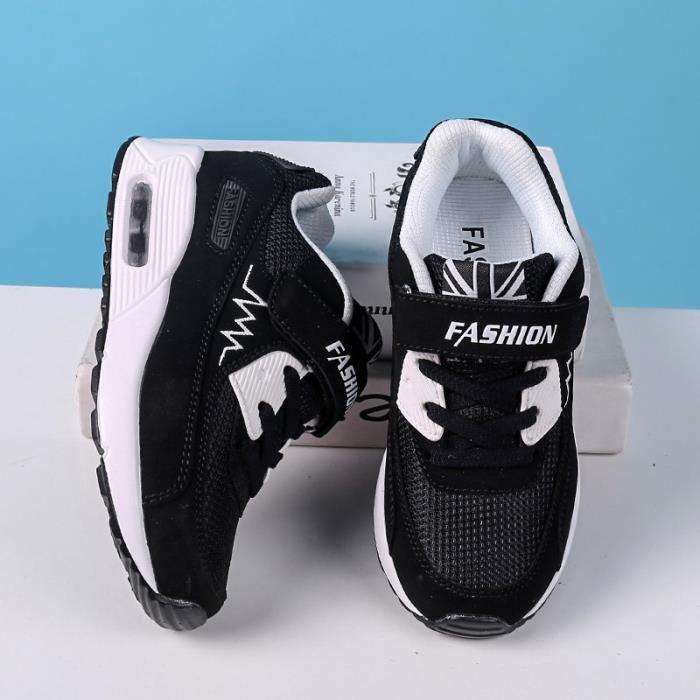 Basket Chaussures de sport décontracté pour enfants unisexe Chaussures de coussin d'air sFluK