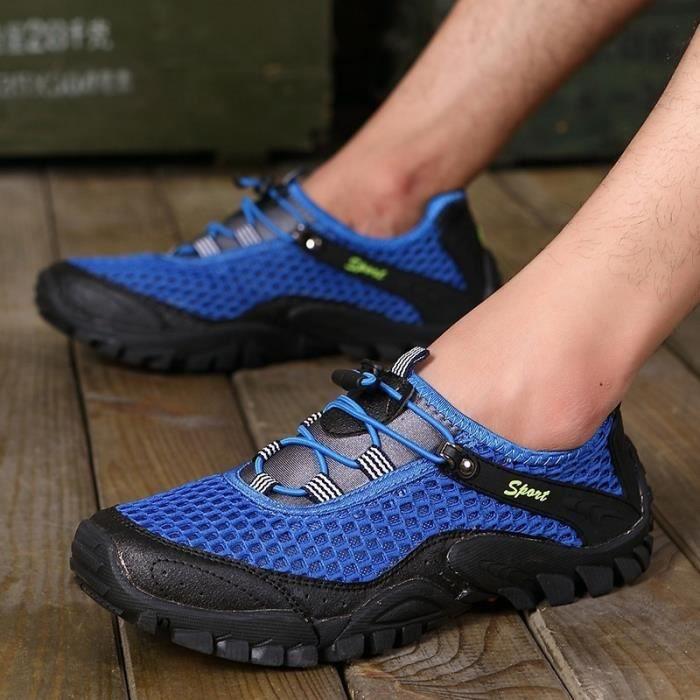 Mode Homme Nouveau Chaussures Voyage pataugeoires Alpinisme Sports de plein air Chaussures antidérapants résistant à l'usure