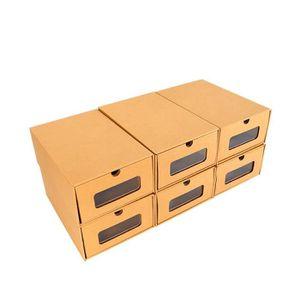 BOITE DE RANGEMENT 20PCS Boîte à Chaussures en Papier Epais Boîte de