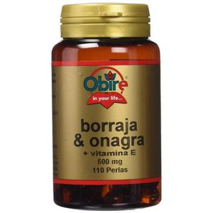HUILE - LAIT MASSAGE Bourrache et Onagre + Vitamine E - 700mg - 110 Gél