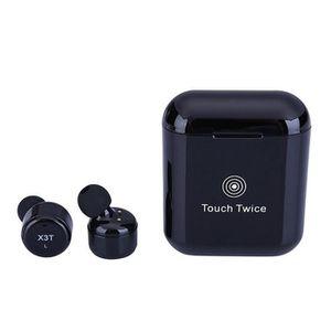 CASQUE - ÉCOUTEURS Écouteurs sans Fil Mini Oreillette Bluetooth 4,2 S