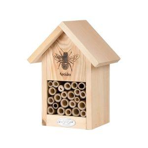 RUCHE Refuge à abeilles en bois et zinc