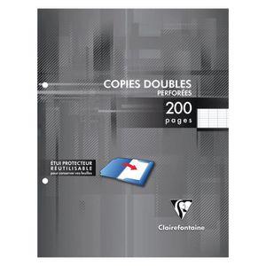 AGENDA - ORGANISEUR CLAIREFONTAINE - Copies doubles blanches perforées