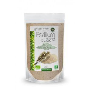 COMPLÉMENT MINCEUR Psyllium blond en poudre bio  - sachet 200 g