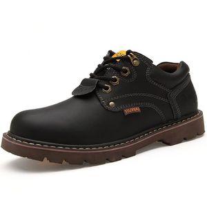 JOZSI Chaussures Homme Cuir Confortable mode Homme chaussure de ville ZX-XZ209Marron38 egI4p