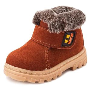 Martin Boots Enfants Hiver Garçons Fille Classique Chaussures BJYG-XZ101Noir31 9HVbV