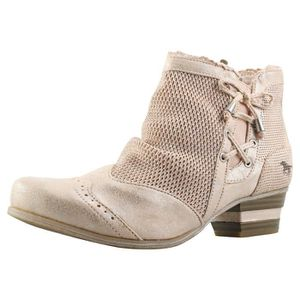 22bf36831c DERBY Bottes - Mustang - Ankle Boot - Femme - Beige
