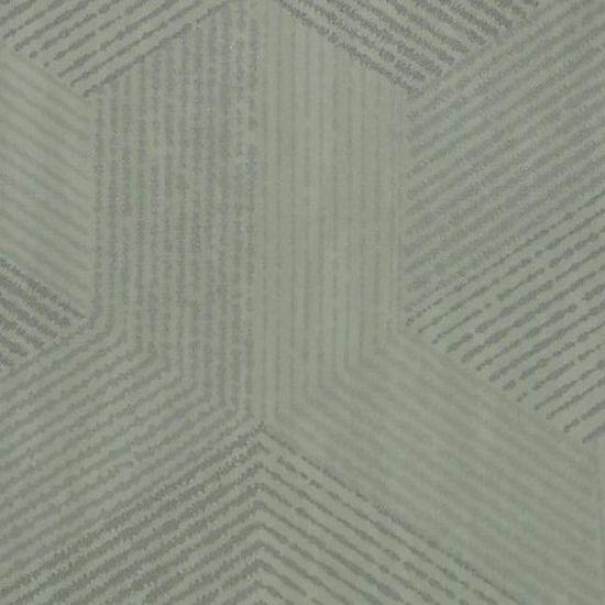 Rouleau De Papier Peint Contemporain A Motif Geometrique En Vinyle