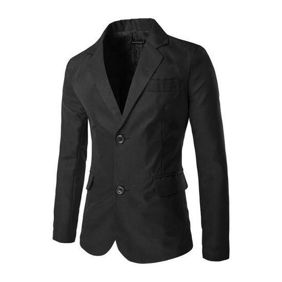 Suit Couleur Luxe Fractionnement Manche Longue Fit Veste Single breasted Costume Deux Slim Marqué Bouton Double Pour Homme xwaTqzxC