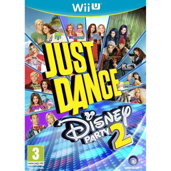 Just Dance Disney 2 Jeu Wii U - Achat / Vente jeu wii u Just Dance Disney 2 Wii U - Cdiscount