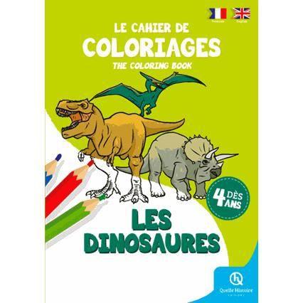 Livre Coloriage Dinosaure.Cahier De Coloriages Dinosaures Achat Vente Livre Bruno Wennagel