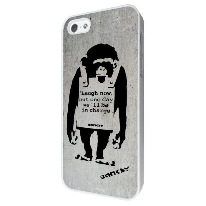 coque iphone 8 banksy