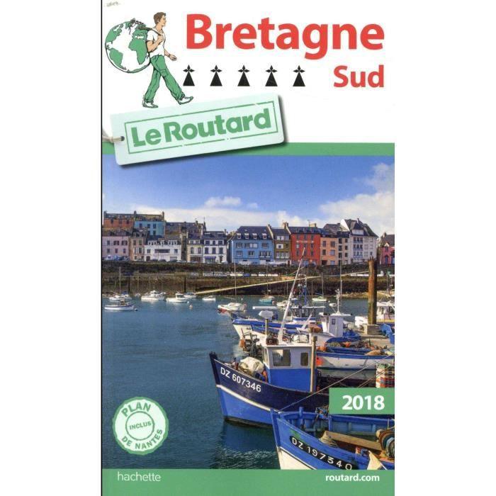 4956e0bc154 Livre - GUIDE DU ROUTARD   Bretagne sud (édition 2018) - Achat ...