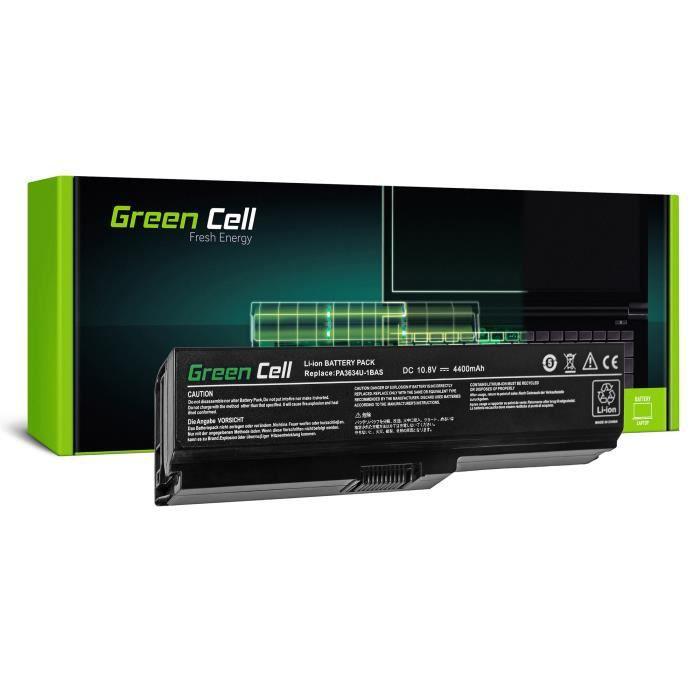 CLAVIER D'ORDINATEUR Batterie Green Cell® pour Toshiba Satellite L670D-