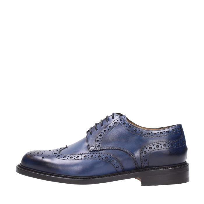 Berwick 1707 Lace Shoes Homme Blue, 9½