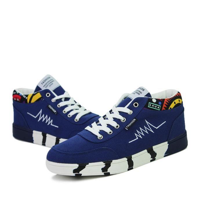 39 Poids Luxe De bleu Plein Taille bleu Grande Air Bleu Léger Sneakers Chaussures Durable Sport Skateboarding 44 Respirant Hommes Marque zw7ZgZ