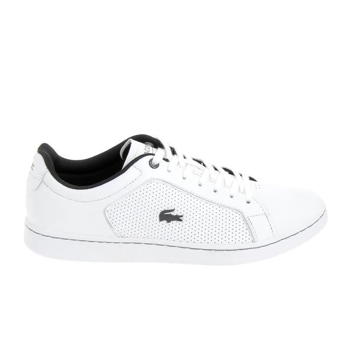 Basket mode - Sneakers LACOSTE Carnaby Evo 317 Blanc Perf