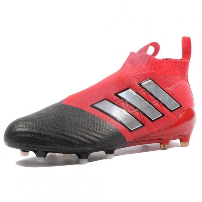 new arrival f7df6 09005 Ace 17+ Purecontrol FG Homme Chaussures Football Rouge Adidas
