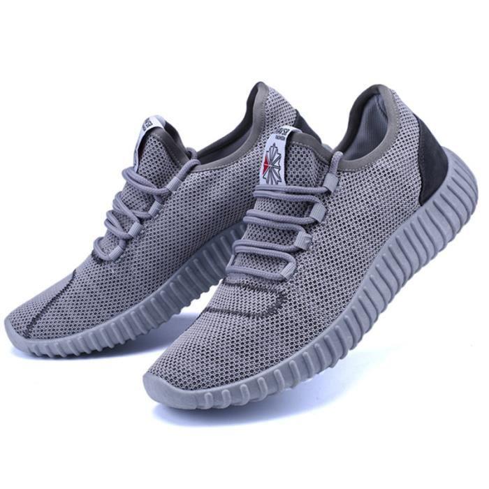 Basket Homme Ultra Léger Chaussures De Sport Populaire BXX-XZ125Gris43 VaBYILTa