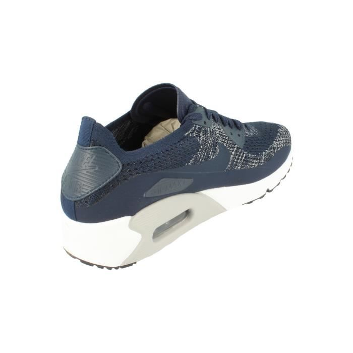 Nike Air Max 90 Ultra 2.0 Flyknit Hommes Running Trainers 875943 Sneakers Chaussures 401 3JM8PAM