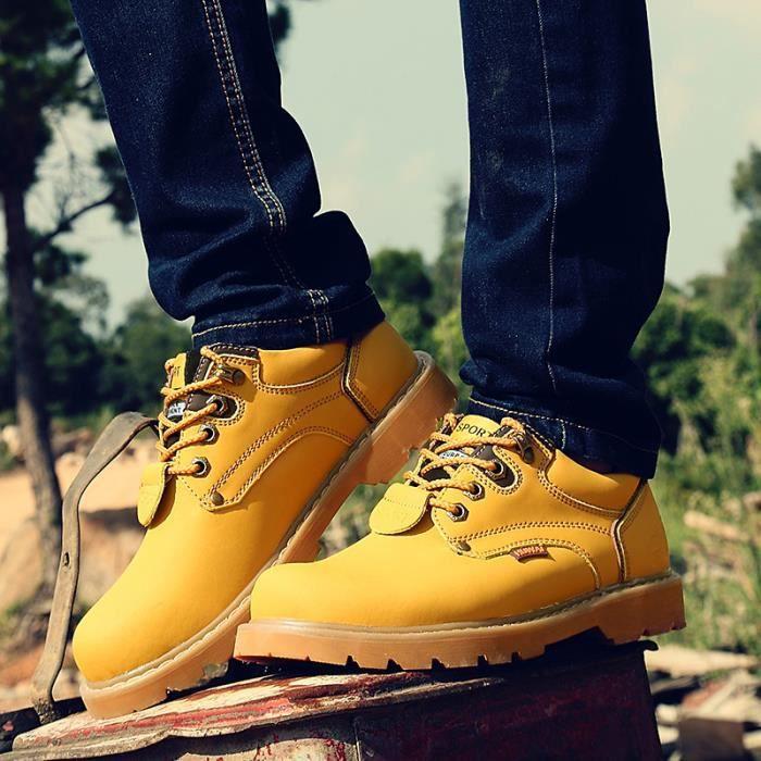 Chaussures Homme Cuir Confortable mode Homme chaussure de ville BSMG-XZ209Noir38 h22Kk5Sbxl
