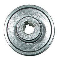 COMPRESSEUR Poulie à gorge aluminium 120 mm axe 28 mm moteur e