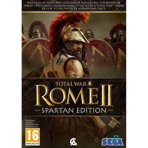 JEU PC Total War Rome 2 Edition Spartan Jeu PC