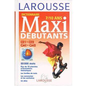 DICTIONNAIRES Dictionnaire Larousse Maxi débutants, CE1, CE2, CM