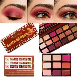 SOIN DES CILS TOO FACED GINGERBREAD SPICE EYESHADOW PALETTE REVI