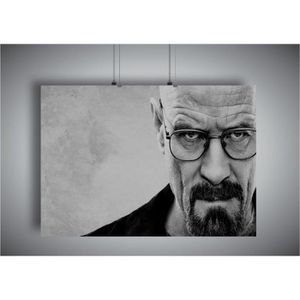 AFFICHE - POSTER Poster BREAKING BAD WALTER WHITE Wall Art V1 - A3