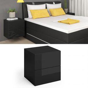 table de chevet suspendu achat vente table de chevet suspendu pas cher cdiscount. Black Bedroom Furniture Sets. Home Design Ideas