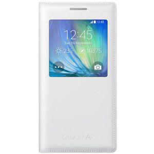 HOUSSE - ÉTUI Samsung Coque Etui S View Cover Galaxy A5 Blanc