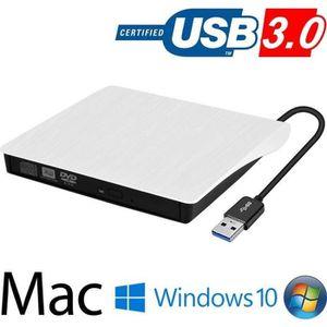 LECTEUR - GRAVEUR EXT. Lecteur Graveur DVD CD Externe USB 3.0 Ultra Slim