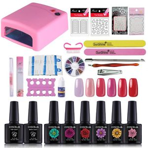 VERNIS A ONGLES 36 W Lampe UV pour Ongle Vernis Semi-permanent Nai