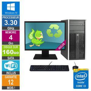 UNITÉ CENTRALE  PC HP Pro 6300 MT Core i3-3220 3.30GHz 4Go-160Go W
