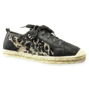 36ecf2466f389 BASKET Angkorly - Chaussure Mode Espadrille Baskets bi-ma