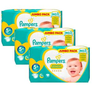 COUCHE Maxi Giga Pack 135 Couches Pampers New Baby - Prem