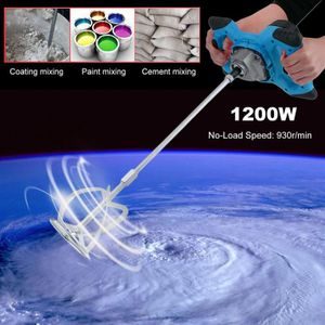 MALAXEUR - MÉLANGEUR Mélangeur électrique 1200w 220V ajustement vitesse