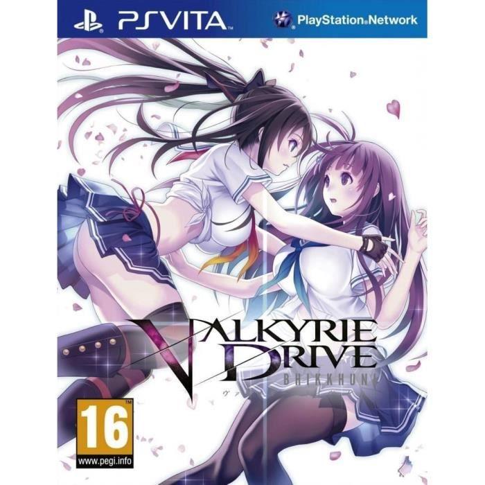 Valkyrie Drive Bhikkhuni Jeu PS Vita