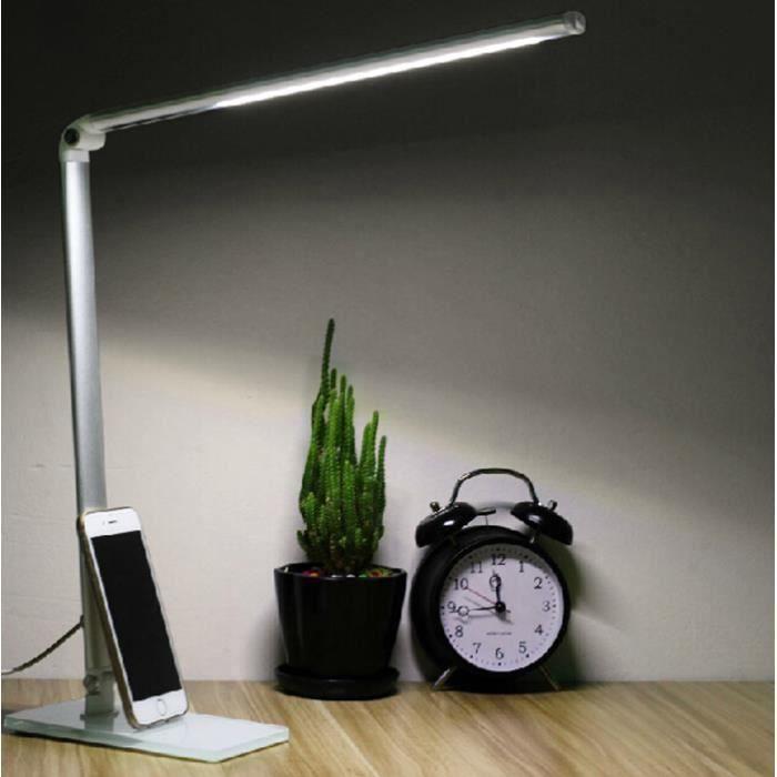 4w Dimmable Table Bureau Lecture Lumière Lampe Livre Portable Led Chevet De I2WEDH9Y
