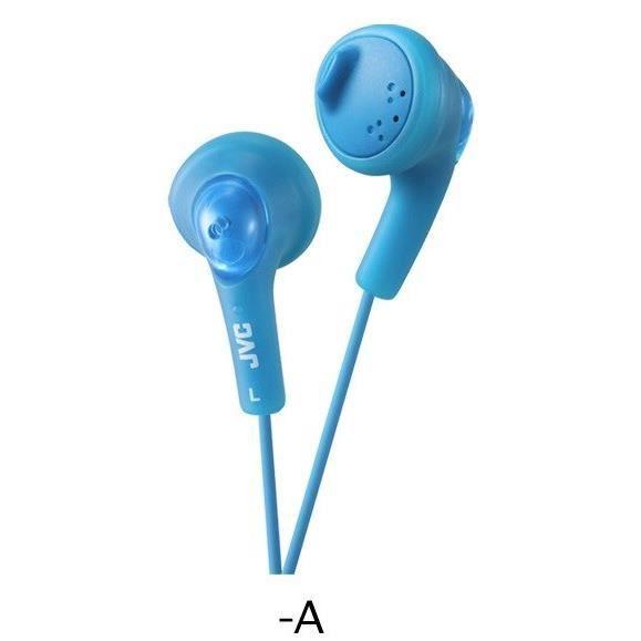 CASQUE - ÉCOUTEURS JVC HA-F160 Ecouteurs GUMY Bleu