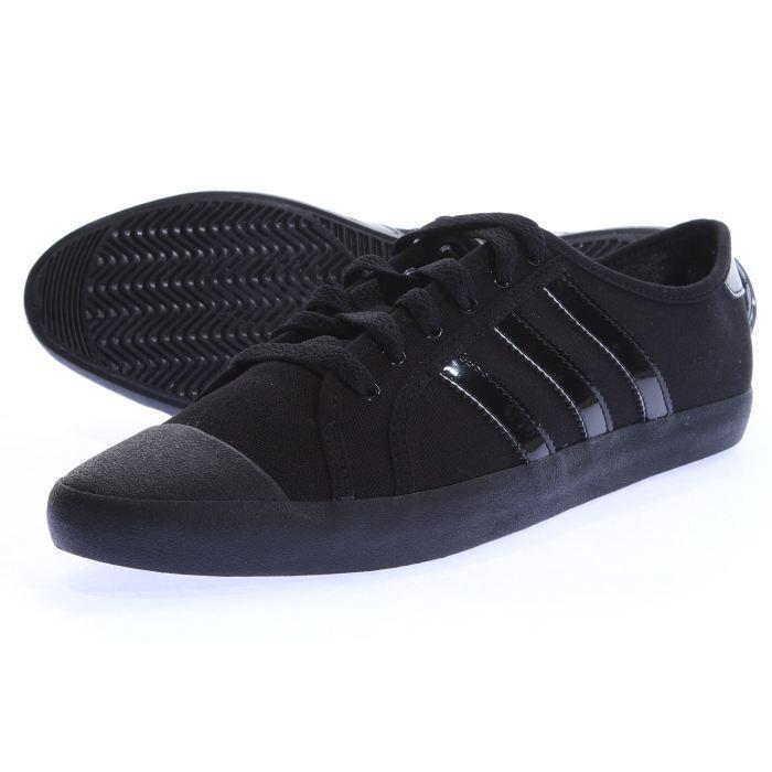 Adidas Vente Adria Low Achat Sleek… Basket Noir Chaussure Yfv6b7gy