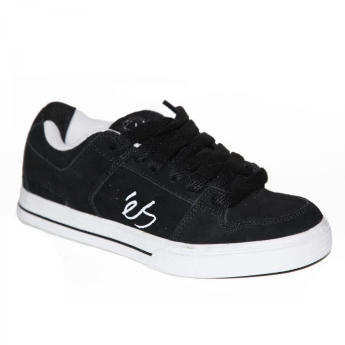 samples shoes ES CESSNA BLACK WHITE KIDS / ENFANTS