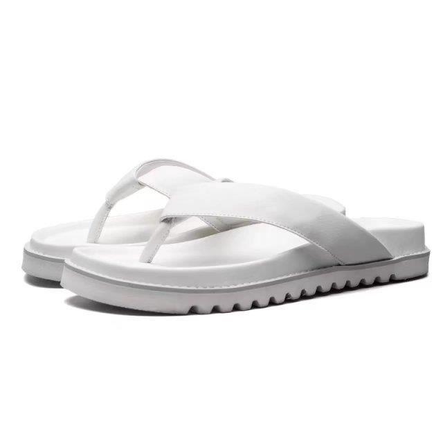 Hommes Sandal Hommes Flops Chaussures Pantoufles Plage Mode Été Des Plat Sandales Chaussons…