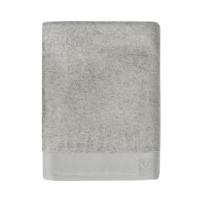 santens linge de lit SANTENS Serviette de toilette BAMBOO 50x100 cm   Gris ciment  santens linge de lit